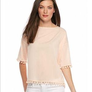 French connection Pom Pom Top